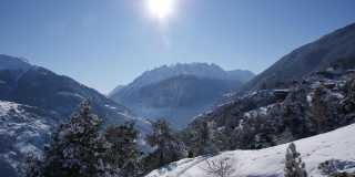Winterwanderwoche im Saastal