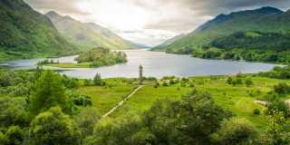 Wandern an Schottlands Küste