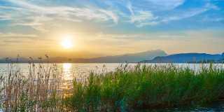 Wandern von Verona an den Gardasee
