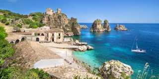 Wandern auf Sizilien - Liparische Inseln: Taormina, Stromboli & Ätna