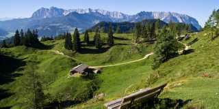 Alpenüberquerung: Individuell wandern vom Tegernsee nach Kitzbühel