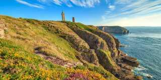 Wandern in der Bretagne - Französische Steilküste