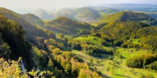 Wandern in der Schweiz - Jura Höhenweg
